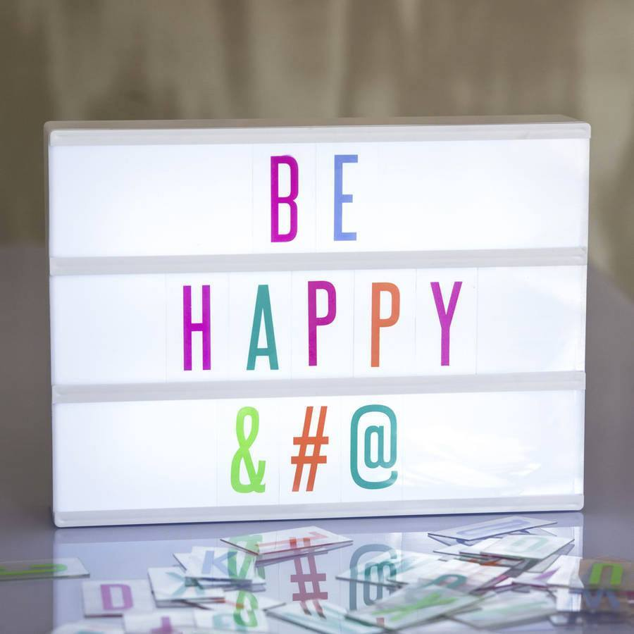 Lighting,Gifts - Customisable Cinematic Light Box