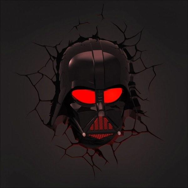 Lighting,Sale,Brands - Star Wars 3D Darth Vader Nightlight