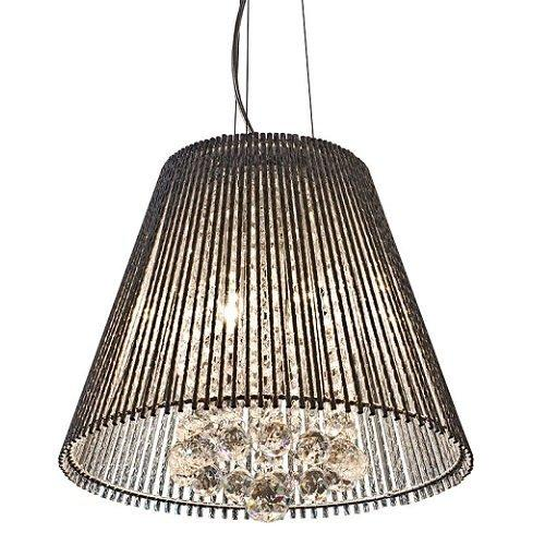 Lighting,Sale - Febland Silver Tube Shade Chandelier