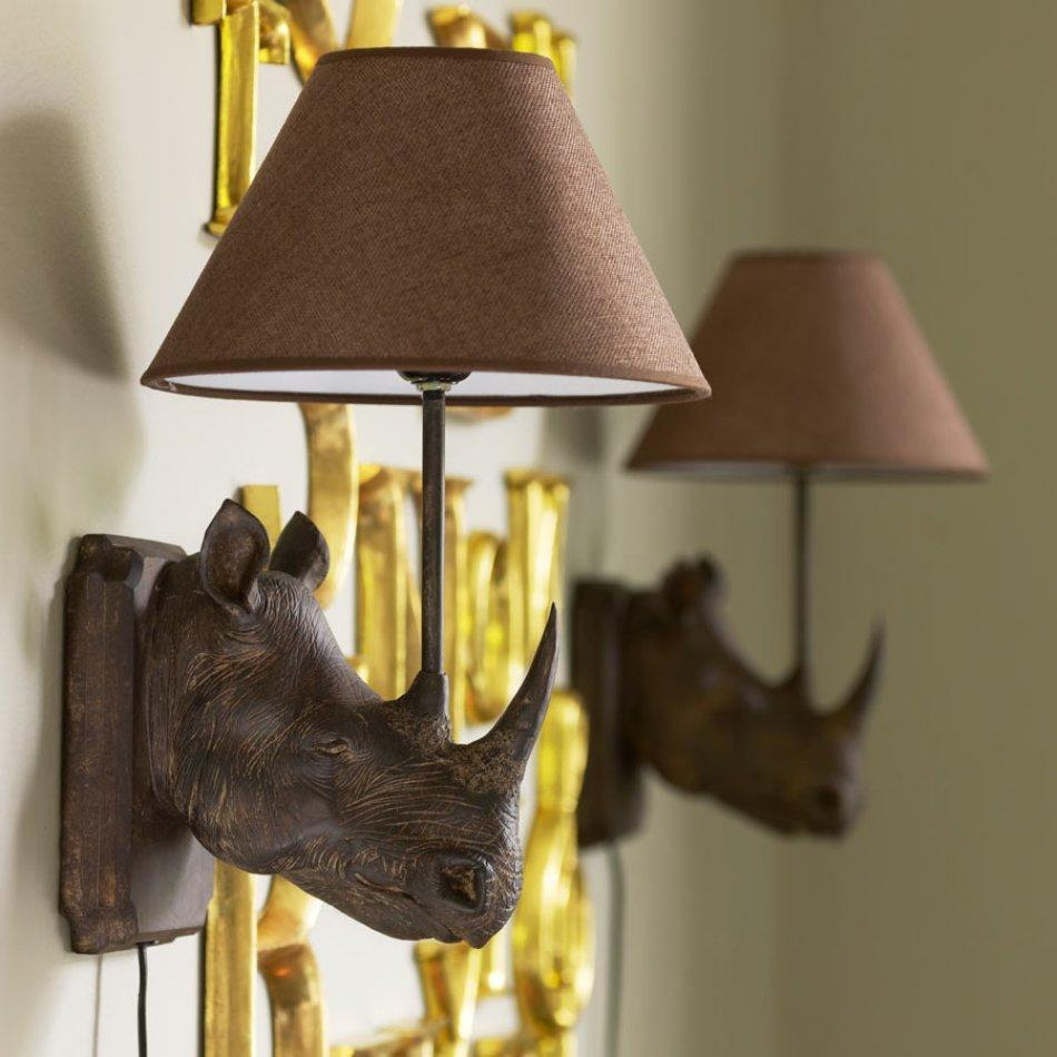 Rhino Wall Lamp  : www.decorelo.co.uk