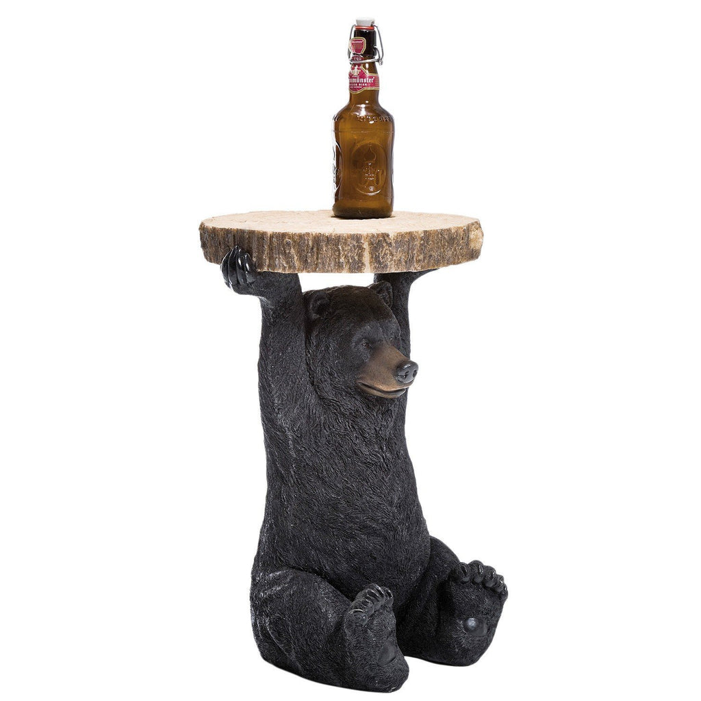 Bear side table quirky functional stylish decorelo for Functional side table