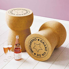 XL Cork Champagne Cork Table  : www.decorelo.co.uk
