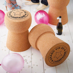 Champagne Cork Stool  : www.decorelo.co.uk
