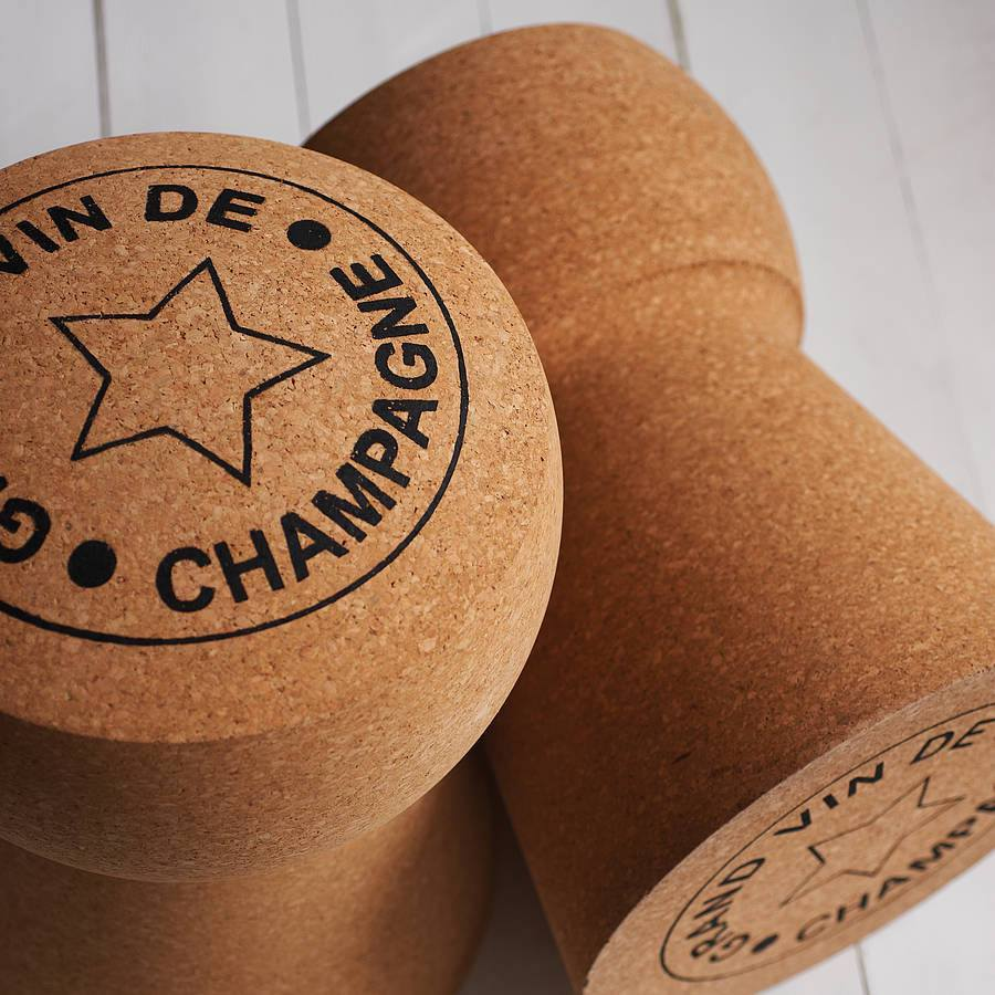 Extra Large Champagne Cork Stool  : www.decorelo.co.uk