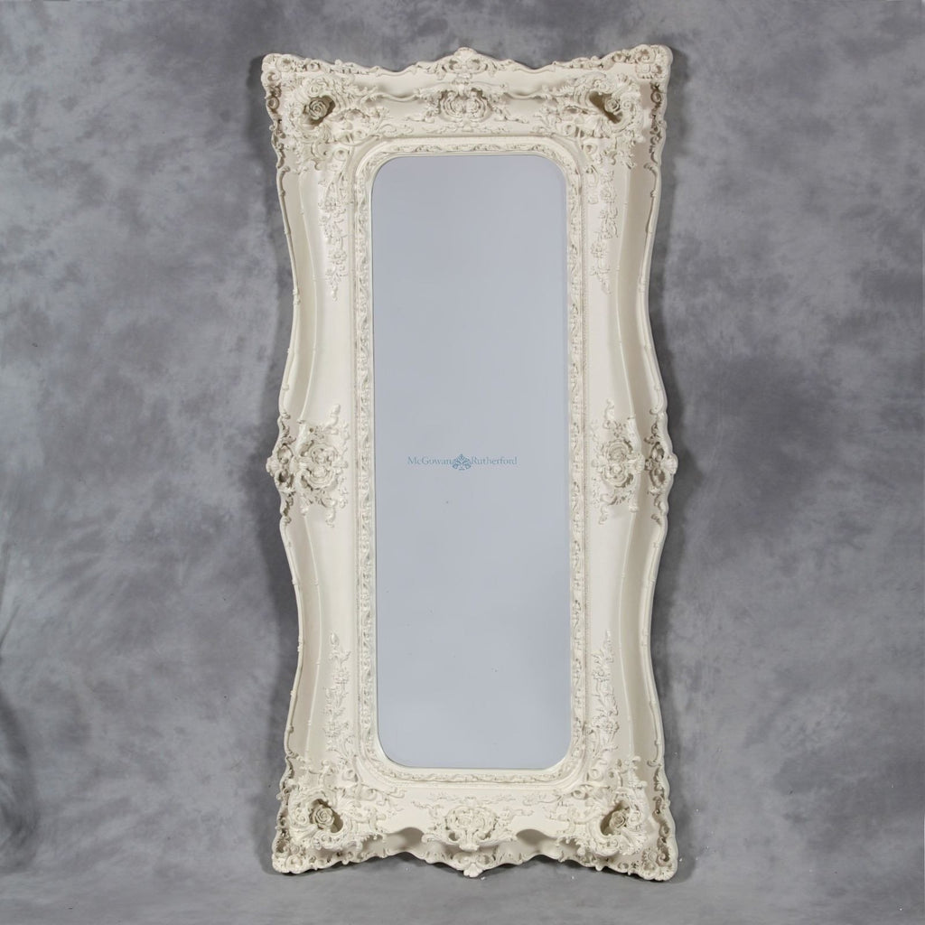 Rutherford McGowan Tall Shabby Chic Mirror