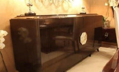 Interio AdVivum Glossy Wood Large Sideboard