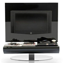 Calligaris TV Unit Display Stand Black Glass