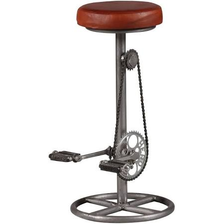 Bicycle Pedal Bar Stool
