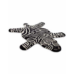 Hand Tufted Small Zebra