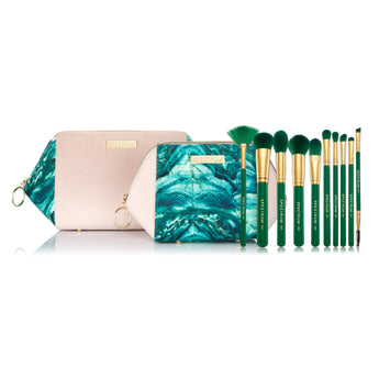 Malachite 10 Piece Set with 2 Bags