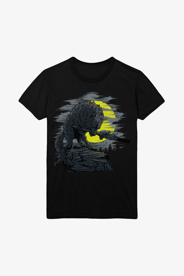 Dark Souls Great Grey Wolf Sif T-Shirt