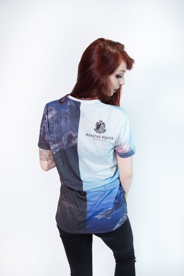 Monster Hunter World - Hunters Allover Premium T-Shirt