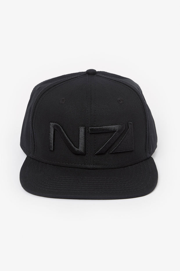 Mass Effect N7 All Black Snapback