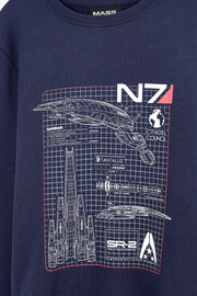 Mass Effect Normandy Blueprint Sweater