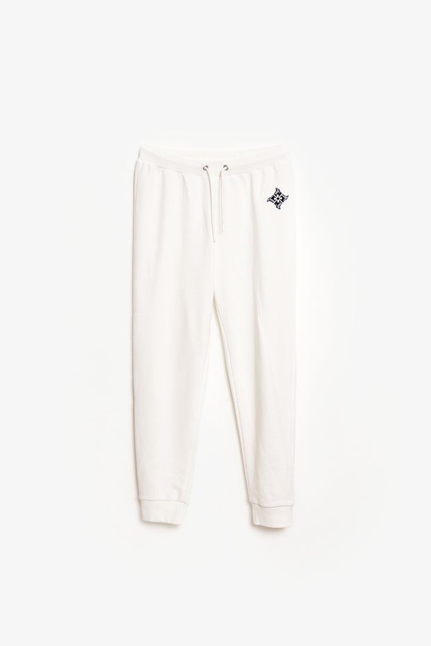 Monster Hunter Rise Kamura Sweatpants - Off-white