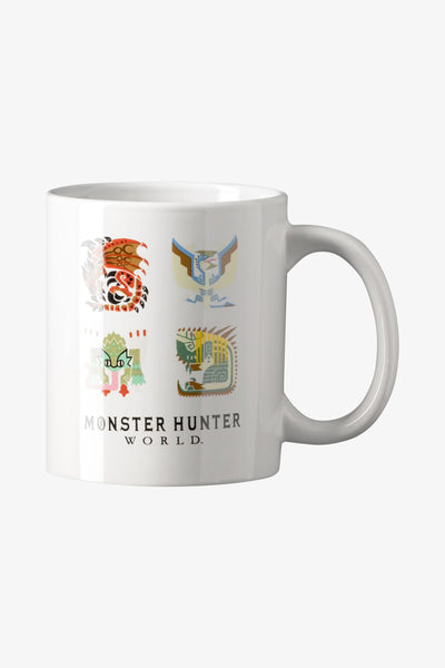 Monster Hunter World Monster Icons Mug