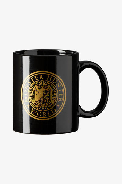 Monster Hunter World Vintage Emblem Mug