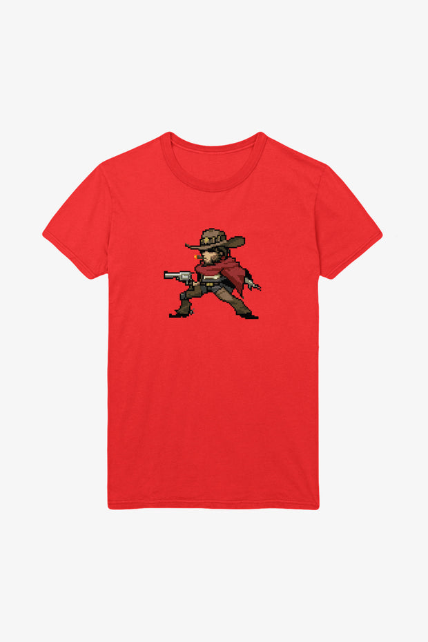 Overwatch McCree Pixel T-shirt