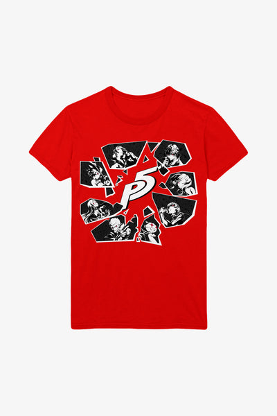 Persona 5 All Heroes T-shirt