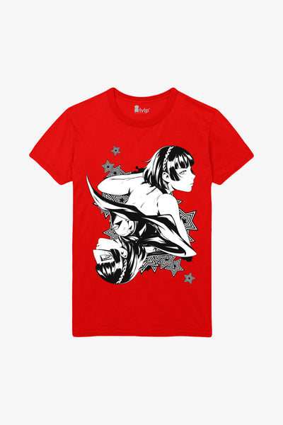 Persona 5 Makoto Playing Card T-Shirt