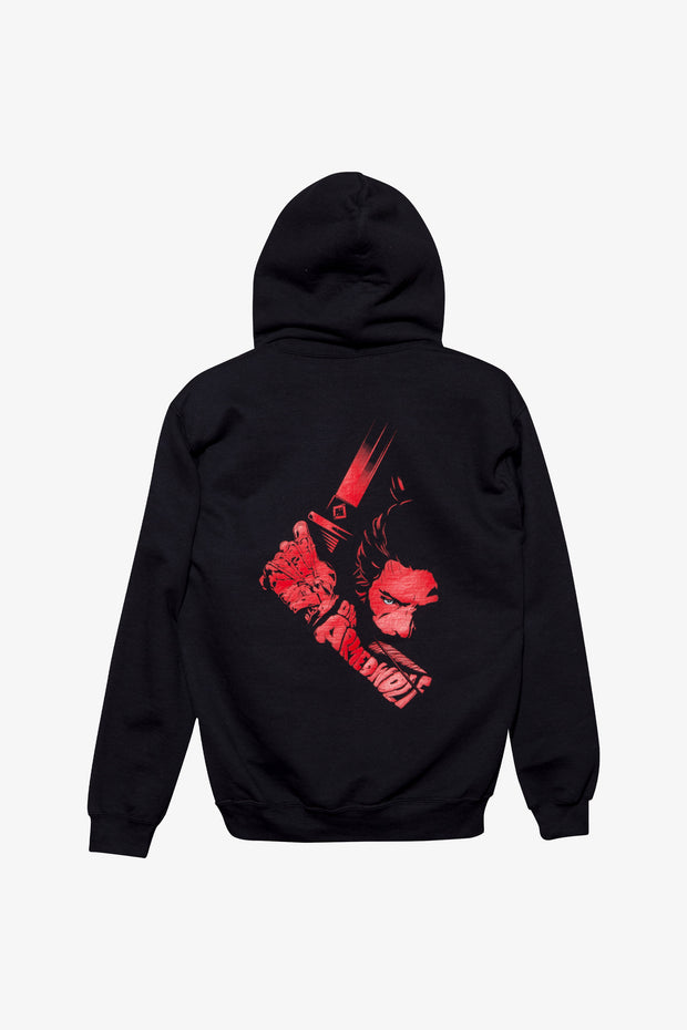 Sekiro One Armed Wolf Pullover Hoodie