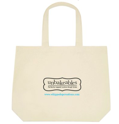 Unbakeables Reusable Canvas Bag
