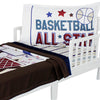 Basketball All Star Toddler Bedding Set