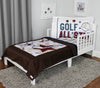 Golf All Star Toddler Bedding Set