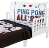 Ping Pong All Star Toddler Bedding Set