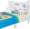 Cars Planes and Trains Toddler Bedding Set