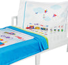 Toy Trains Toddler Bedding Set