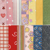 100pc Scrapbook Cardstock and Design Papers