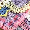50 Crocheted Afghan Borders Craft Book