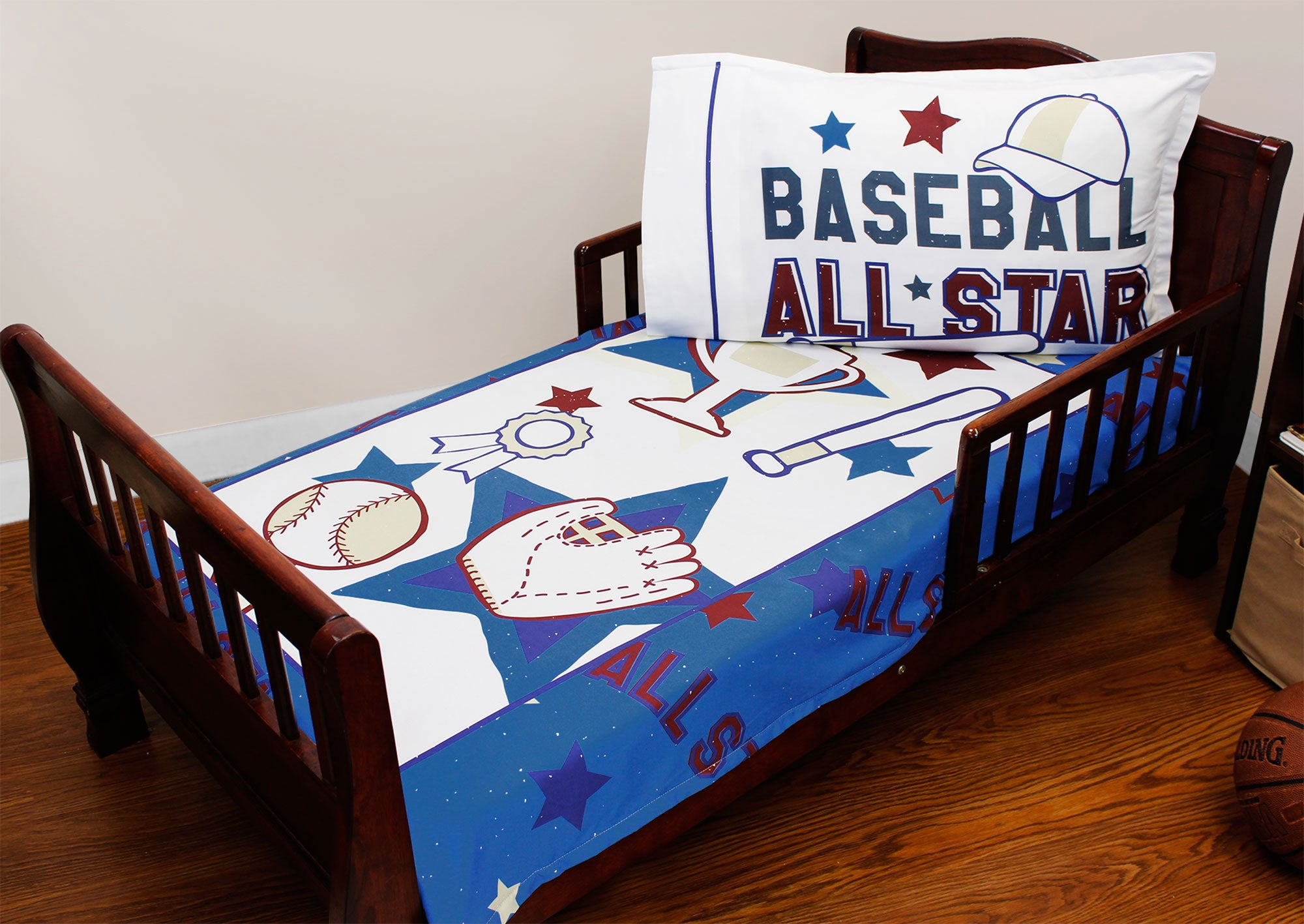Baseball All Star Toddler Bedding Set