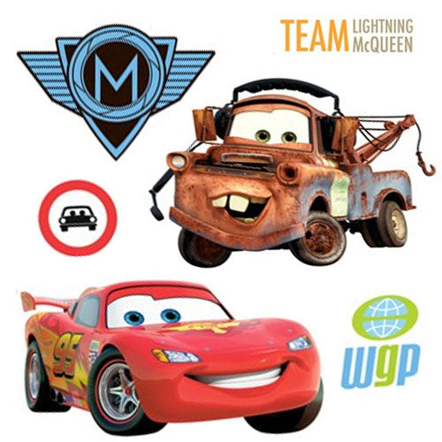 26pc Disney S Cars 2 Mcqueen Accent Decal Wall Stickers Obedding Com
