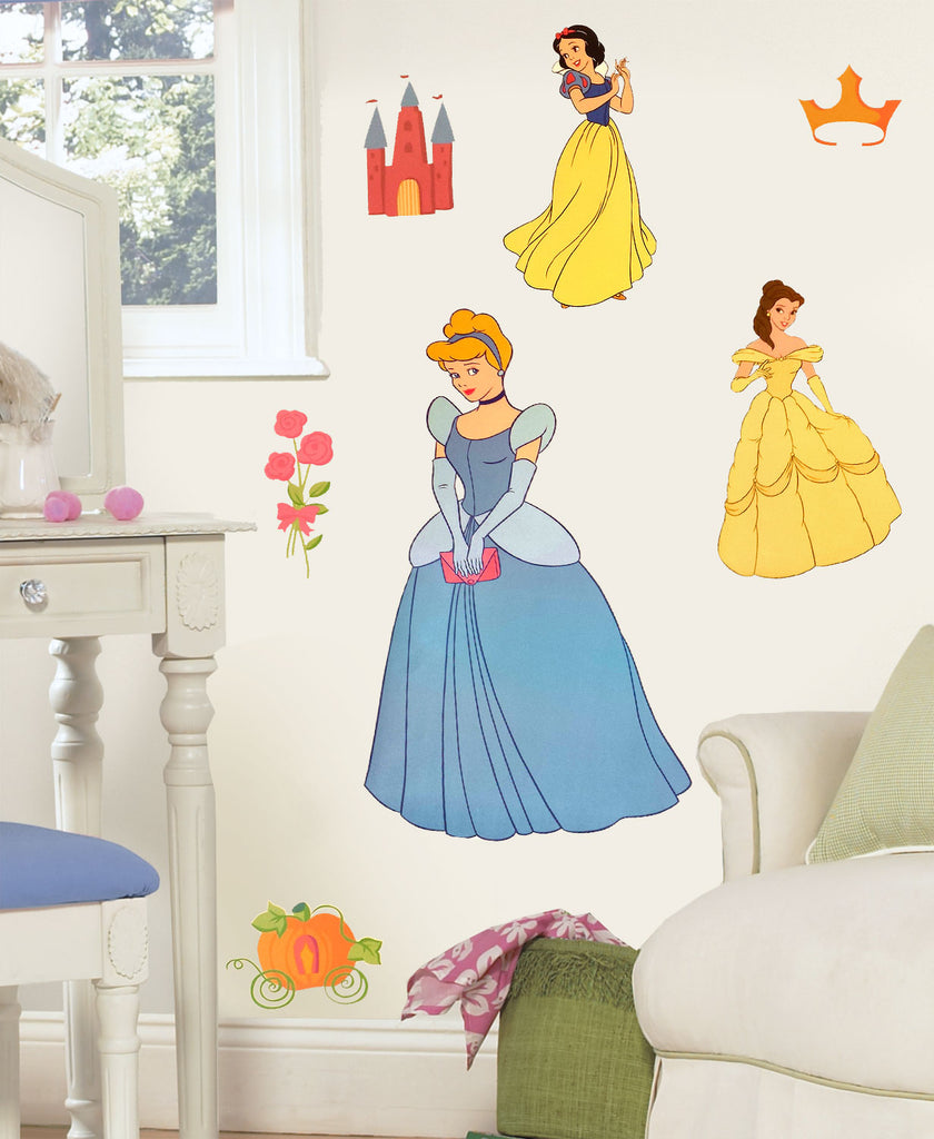 Disney Cinderella Accent Sticker Princess Friend Wall Decals
