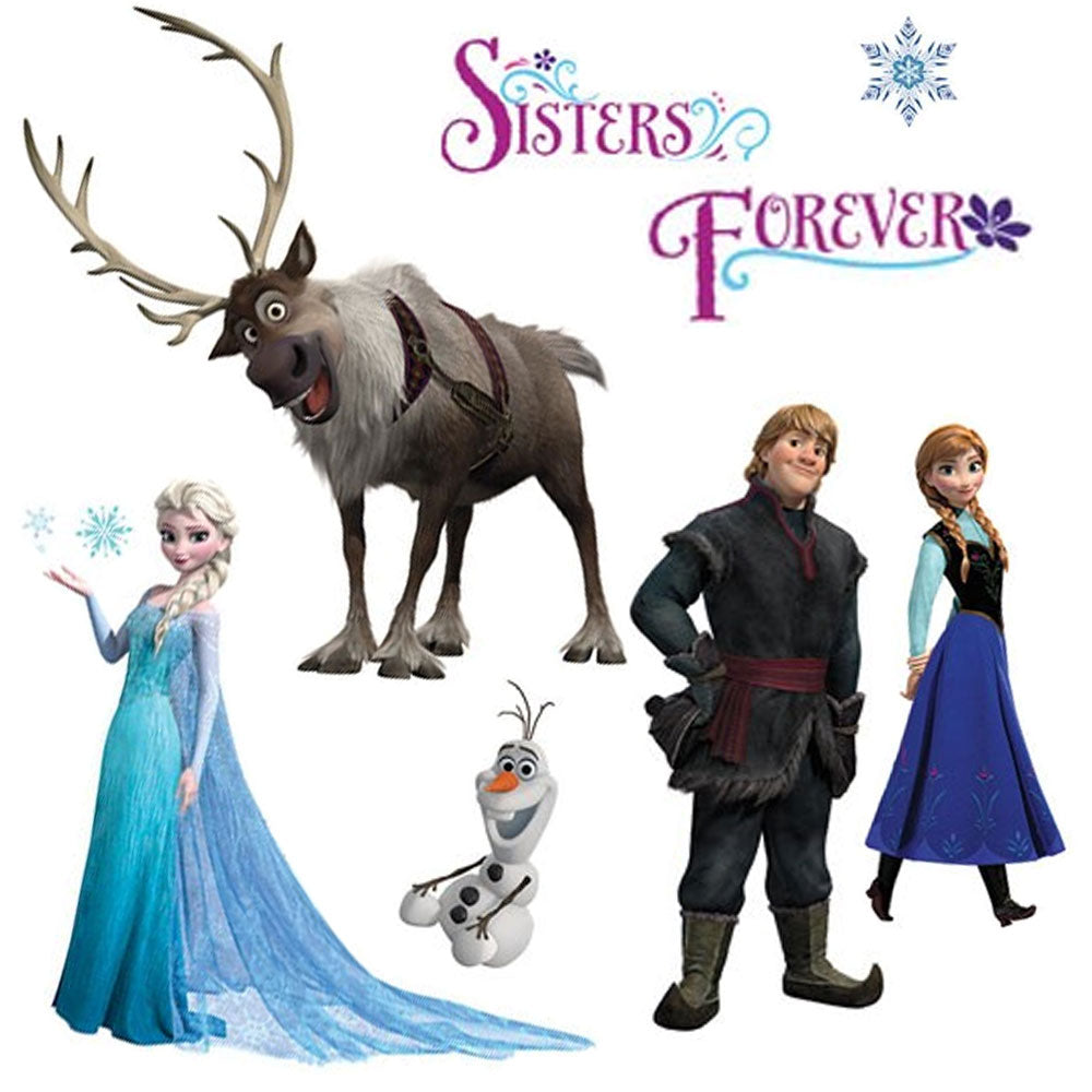 Princess wall accents obedding disney frozen wall stickers amipublicfo Gallery