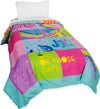 Inside Out Rainbow Ombre Bed Comforter