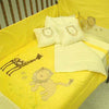 Jungle Lion and Giraffe Bedding Set