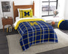 NCAA Michigan Wolverines Bed Comforter Set