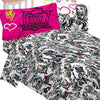 Monster High Ghouls Rule Bedroom Sheet Set