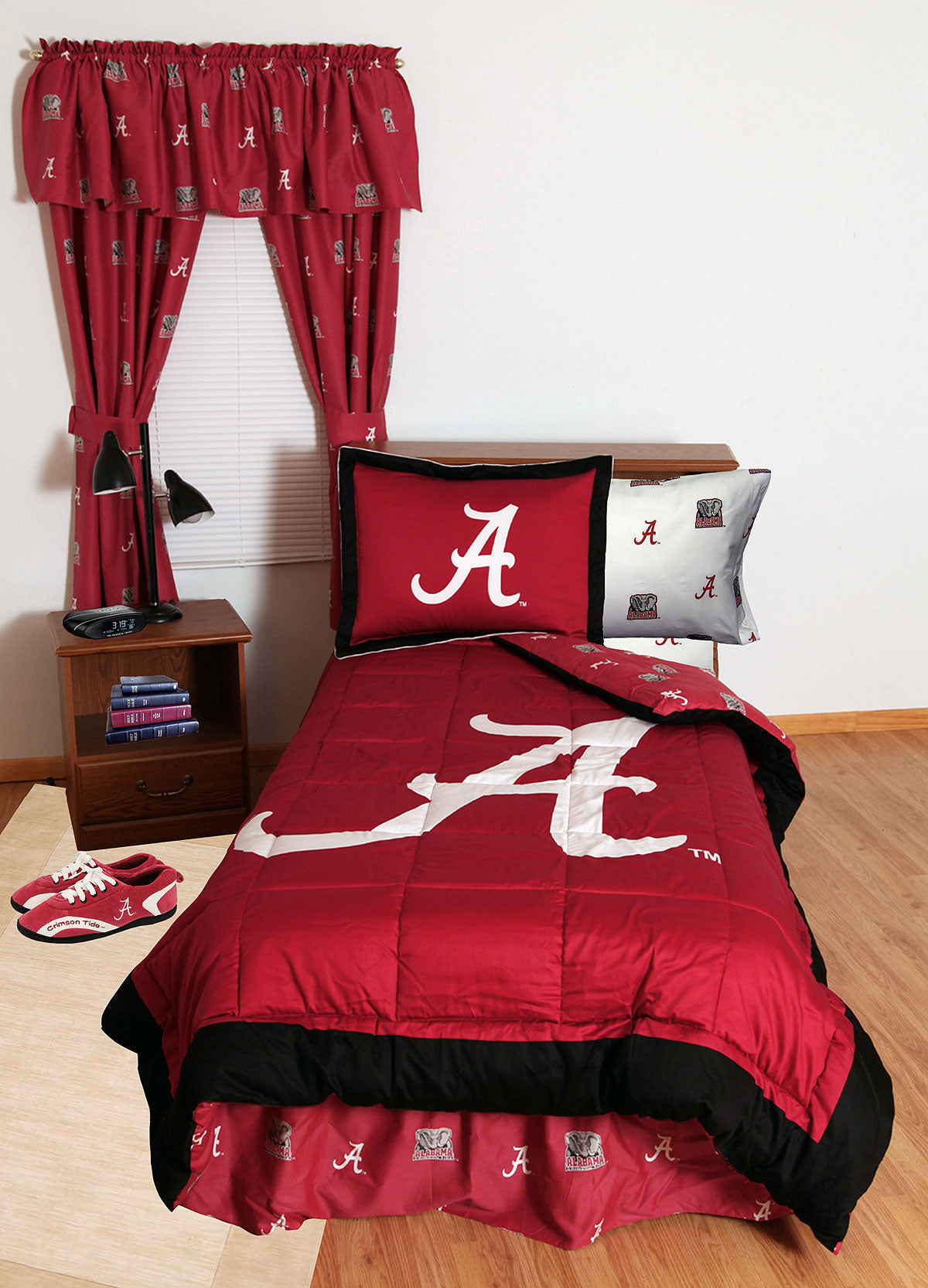 Ncaa Alabama Bedding Crimson Tide Comforter Sets Bama
