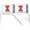 NCAA Illinois Fighting Illini Jersey Bedroom Collection