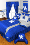 NCAA Kentucky Wildcats Jersey Sports Coverage Locker Room Bedskirt