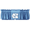 NCAA North Carolina Tarheels Jersey Window Valance