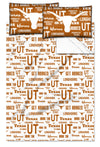 NCAA Texas Longhorns Anthem Bed Sheet Set
