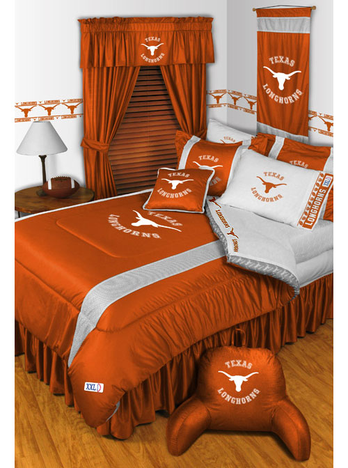 Ncaa Texas Bedding Longhorns Comforter Sets College Sheets