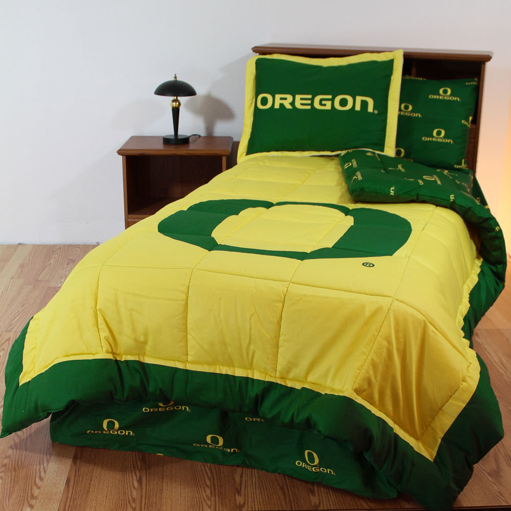 Ncaa Oregon Bedding Ducks Comforter Sets Osu Sheets