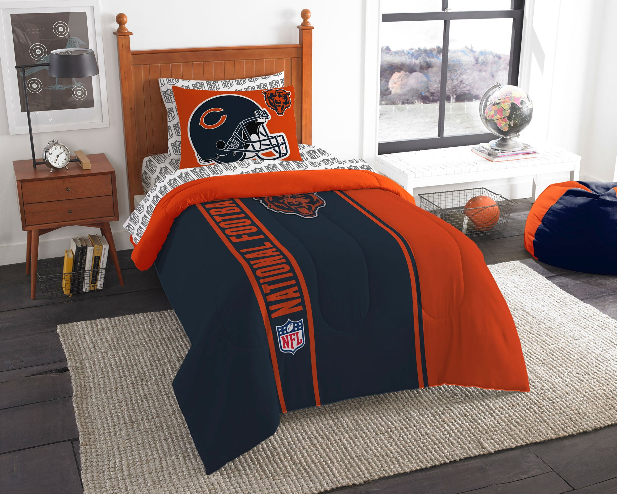 NFL Chicago Bears Bedroom Collection