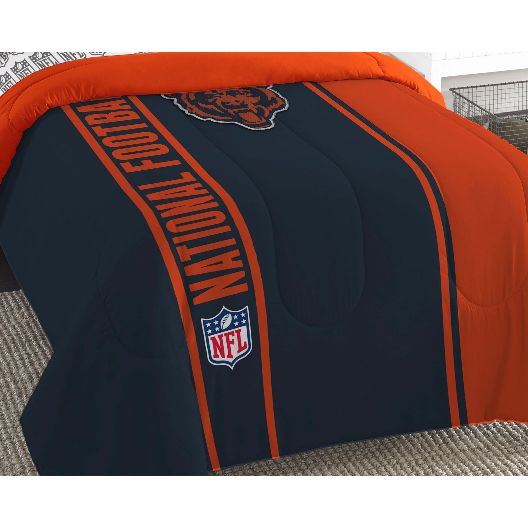 Chicago bears bathroom accessories - Nfl Chicago Bears Bedroom Collection